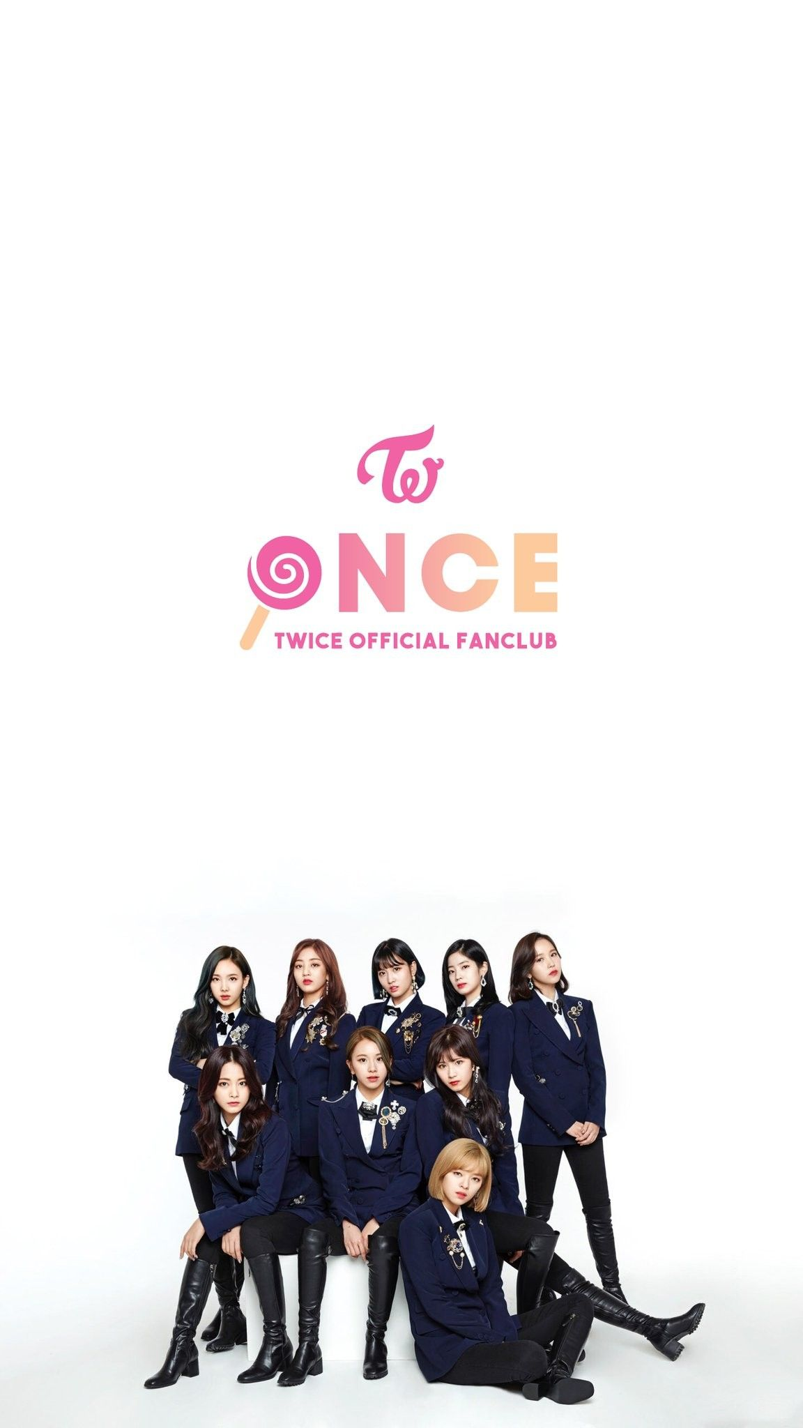 Twice Official Fanclub Once 2nd Generation Wallpaper Twice Kpop Twice Twice Group