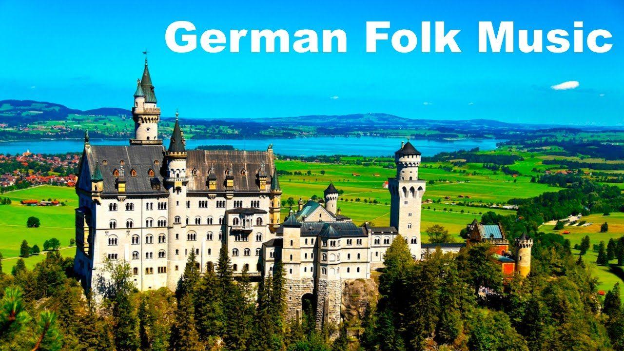 German Music And German Folk Music Best Of Traditional German Music Neuschwanstein Castle Castle Wallpaper Roll