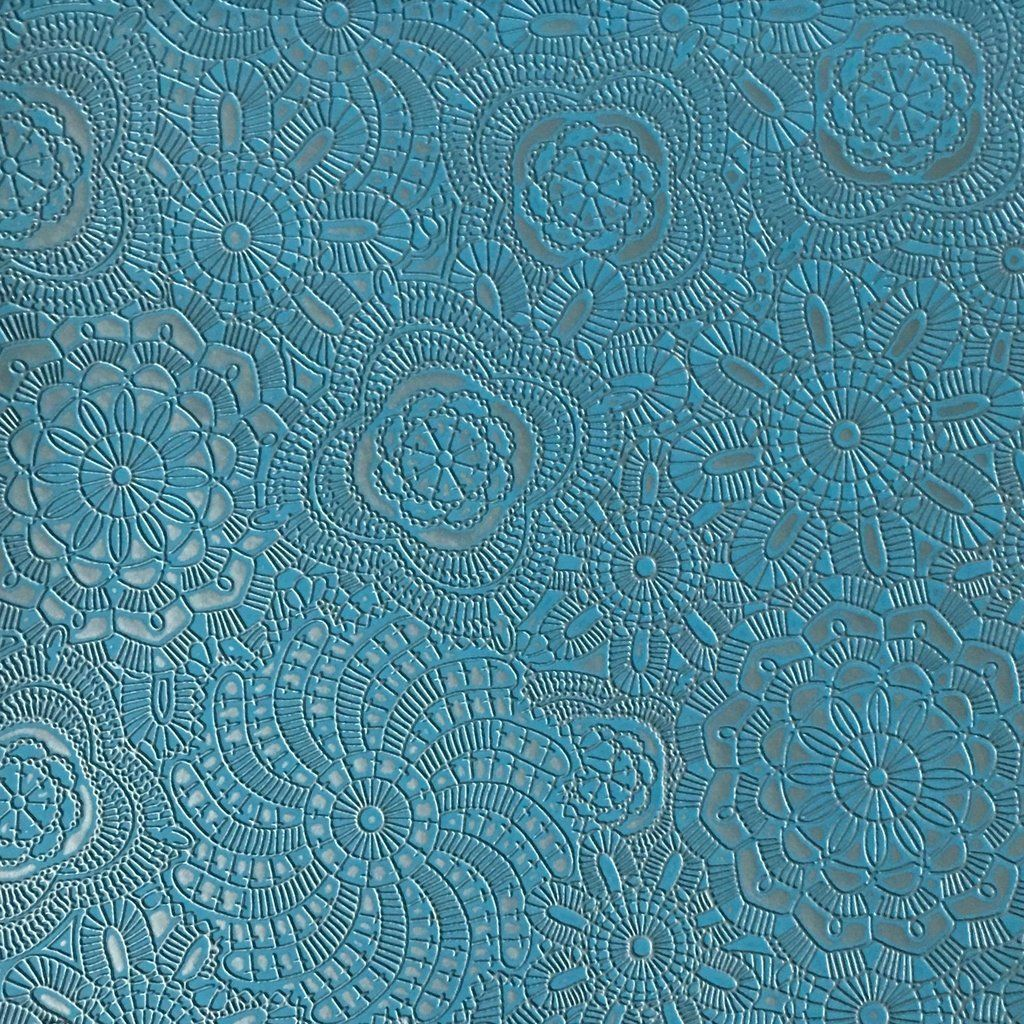 Camden Embossed Vinyl Fabric Designer Pattern Upholstery Fabric By