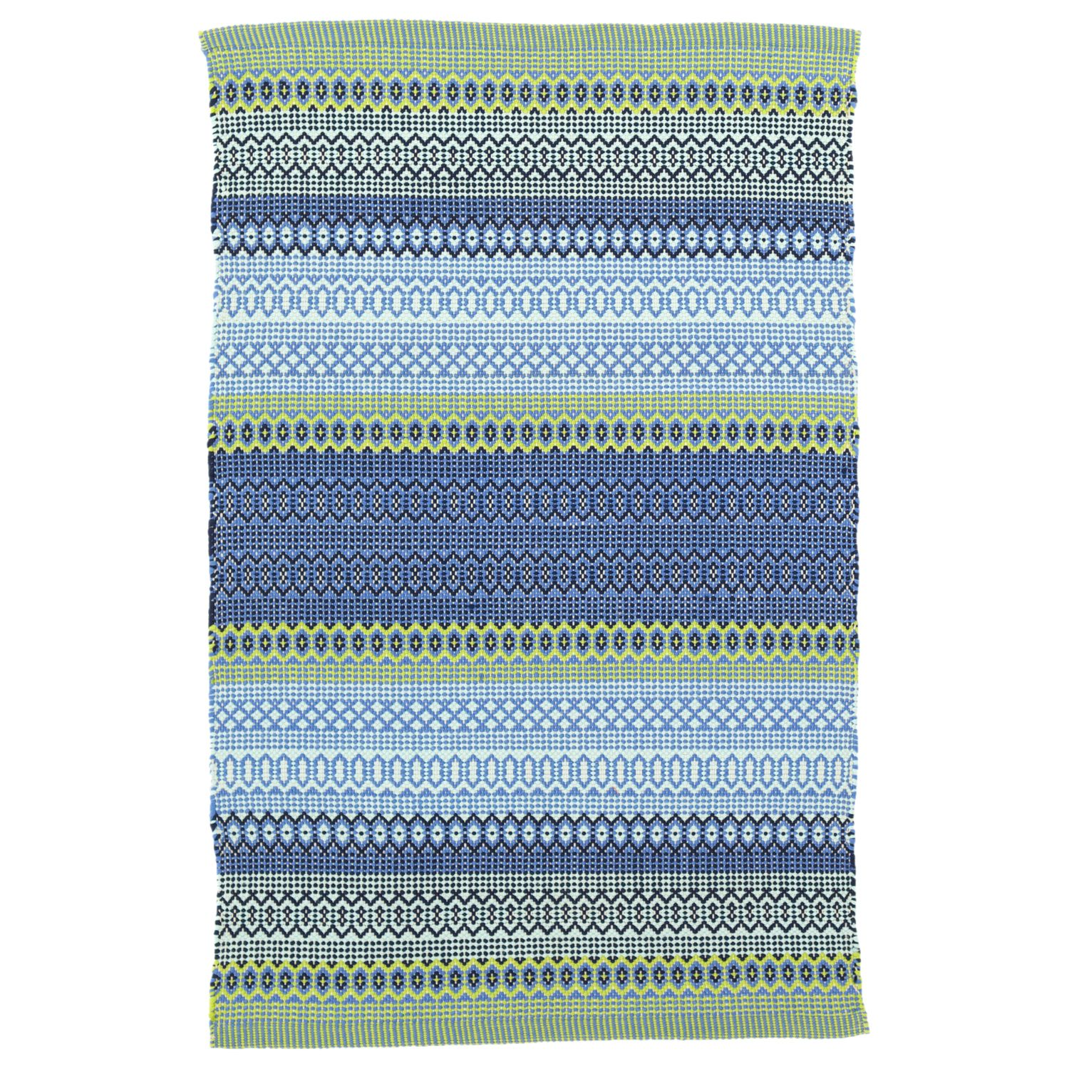 Inspired By Mexican Serape Blankets Dash Albert S Fiesta Stripe Rug Infuses Porches And Living Es With A Healthy Dose Of Global Flair