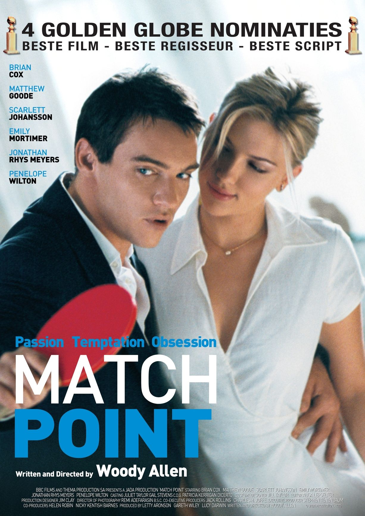 Matchpoint Movieposters 2005 Jonathanrhysmeyers Match Point Match Point Movie Woody Allen