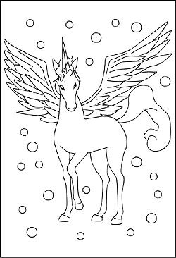 Malvorlagen Pegasus | colorbook | Coloring pages, Coloring pages