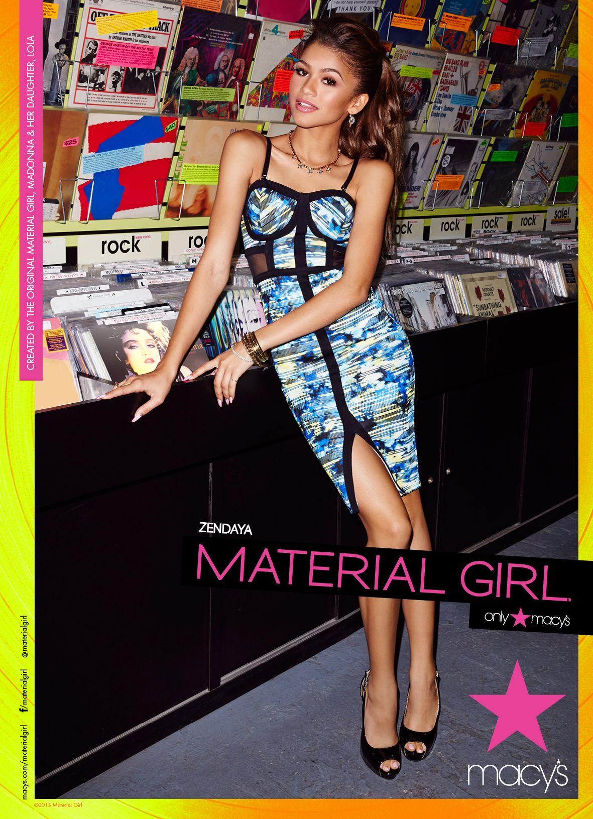 Zendaya Is Back As Madonna S Material Girl For 2015 Zendaya