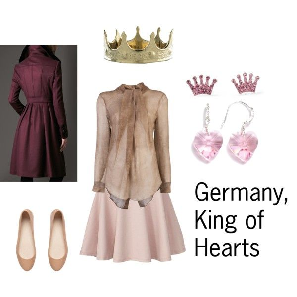 Germany, King of Hearts - Polyvore