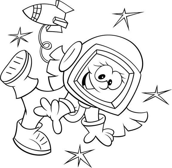 Dibujos para Colorear Trabajos 3 | espacio | Pinterest | Colorear ...