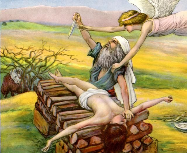 Does the sacrificing of Isaac prefigure Jesus?