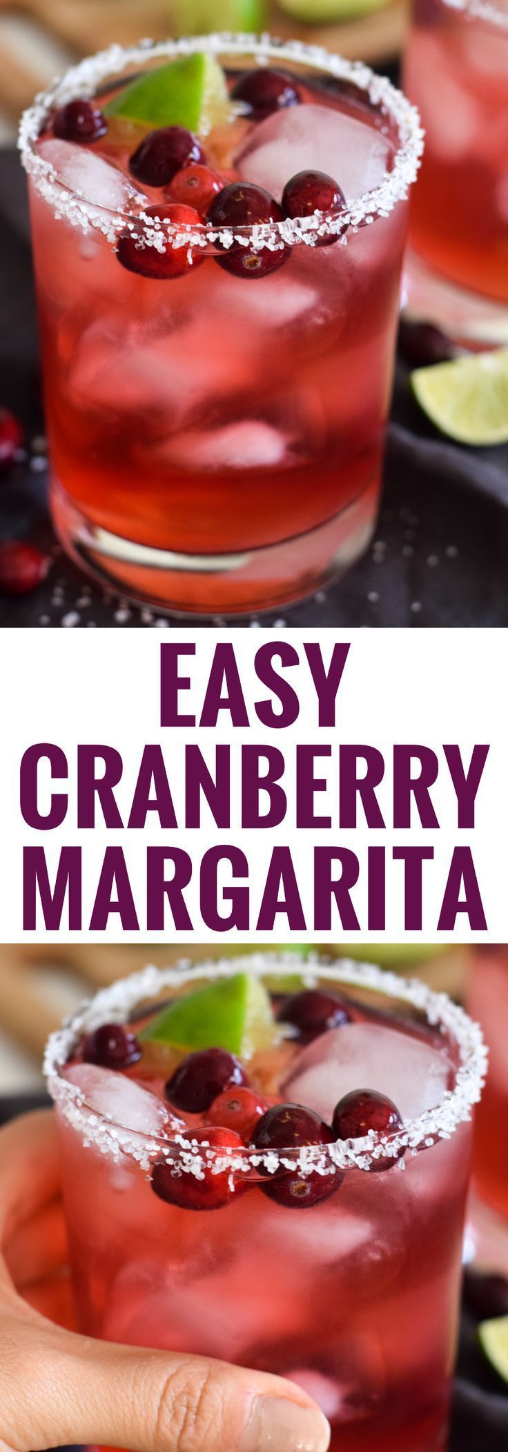 Tis The Season To Think Of These Things Https Www Pinterest Com Pin 329466528974733749 Cranberry Margarita New Year S Drinks Christmas Party Food
