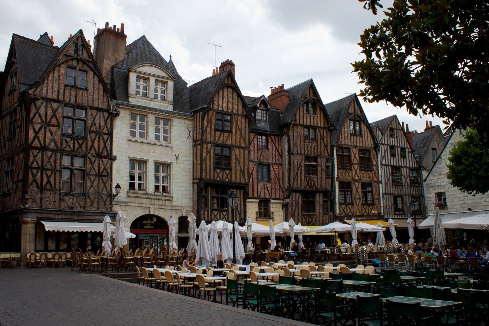 Visit Tours The Garden Of France Beautiful Wooden Houses In - Tours france