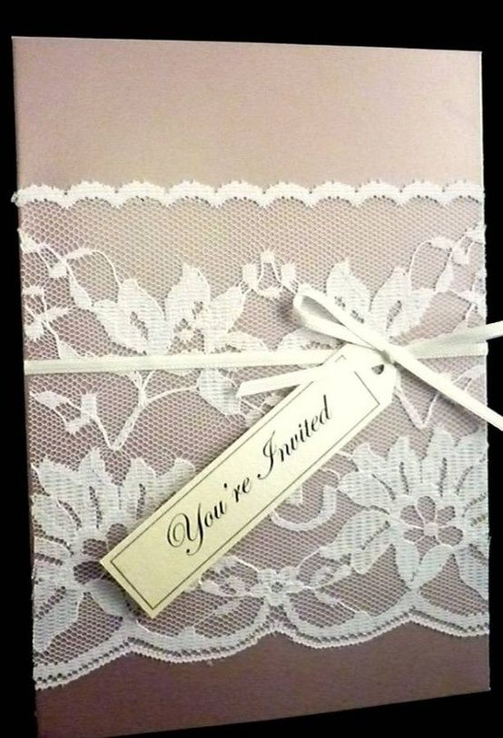 17 Best images about Invitation cards – Vintage Wedding Invitations Lace