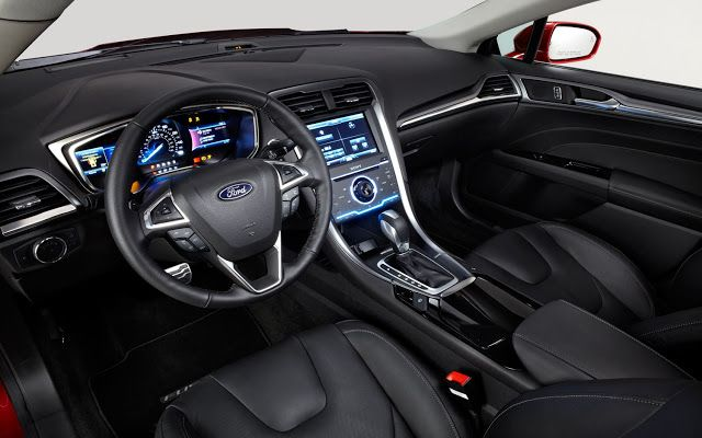 2017 Ford Fusion Hybrid Interior View