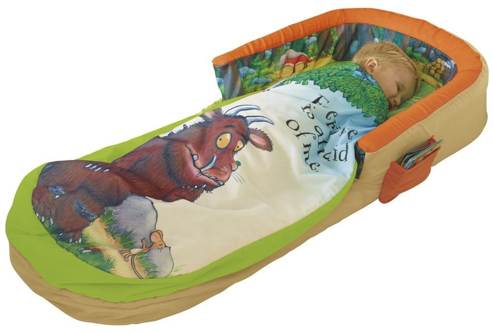Inflatable Bed Portable Junior Sleeping Bag Gruffalo Readybed Kids Sleepover