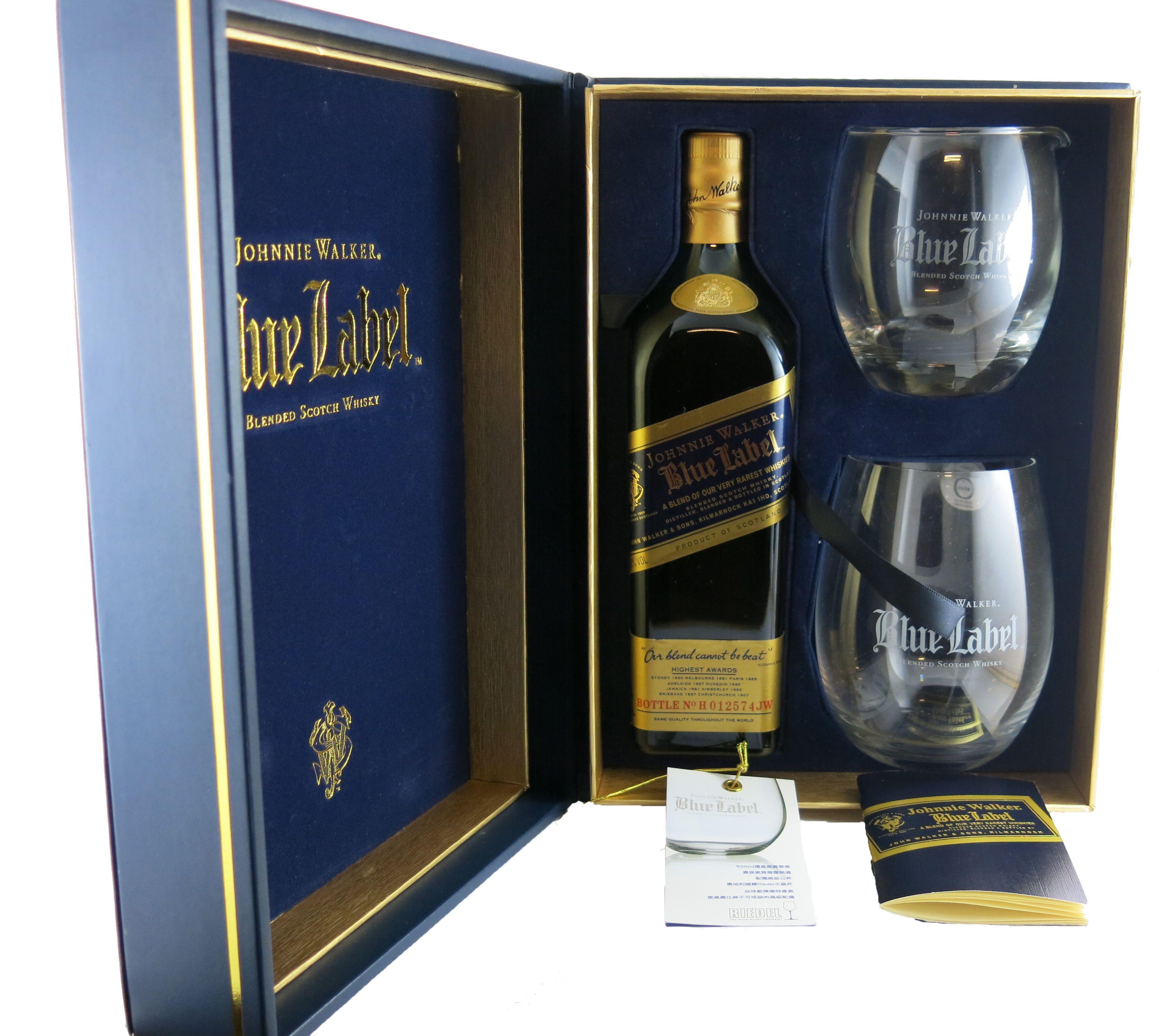 Scotch : Johnnie Walker Blue Label Limited Edition Gift Set