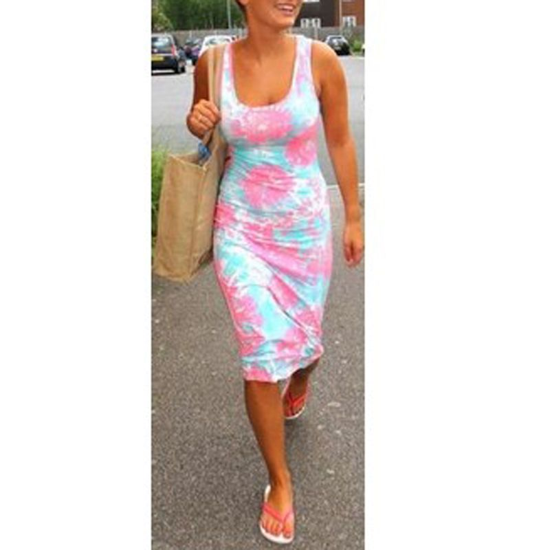NEW Summer Women Floral Casual Beach Boho Maxi Sundress Long Dress #GL #StretchBodycon #Cocktail