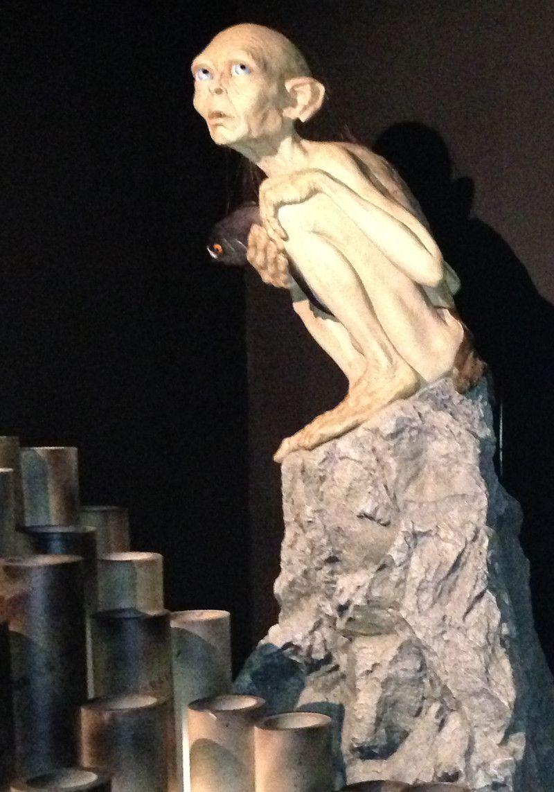 Gollum En Figur Fra Tolkiens Univers Foto Nationalmuseet Travel