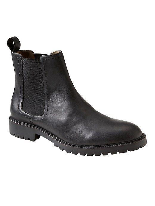 06c43893664 Tanner Lug Sole Chelsea Boot in 2019   Products   Shoe boots, Boots ...