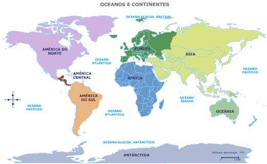 Países e capitais