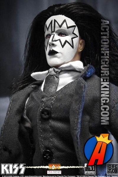 The Spaceman Kiss Series 5 Dressed To Kill 8 Action Figure Kiss