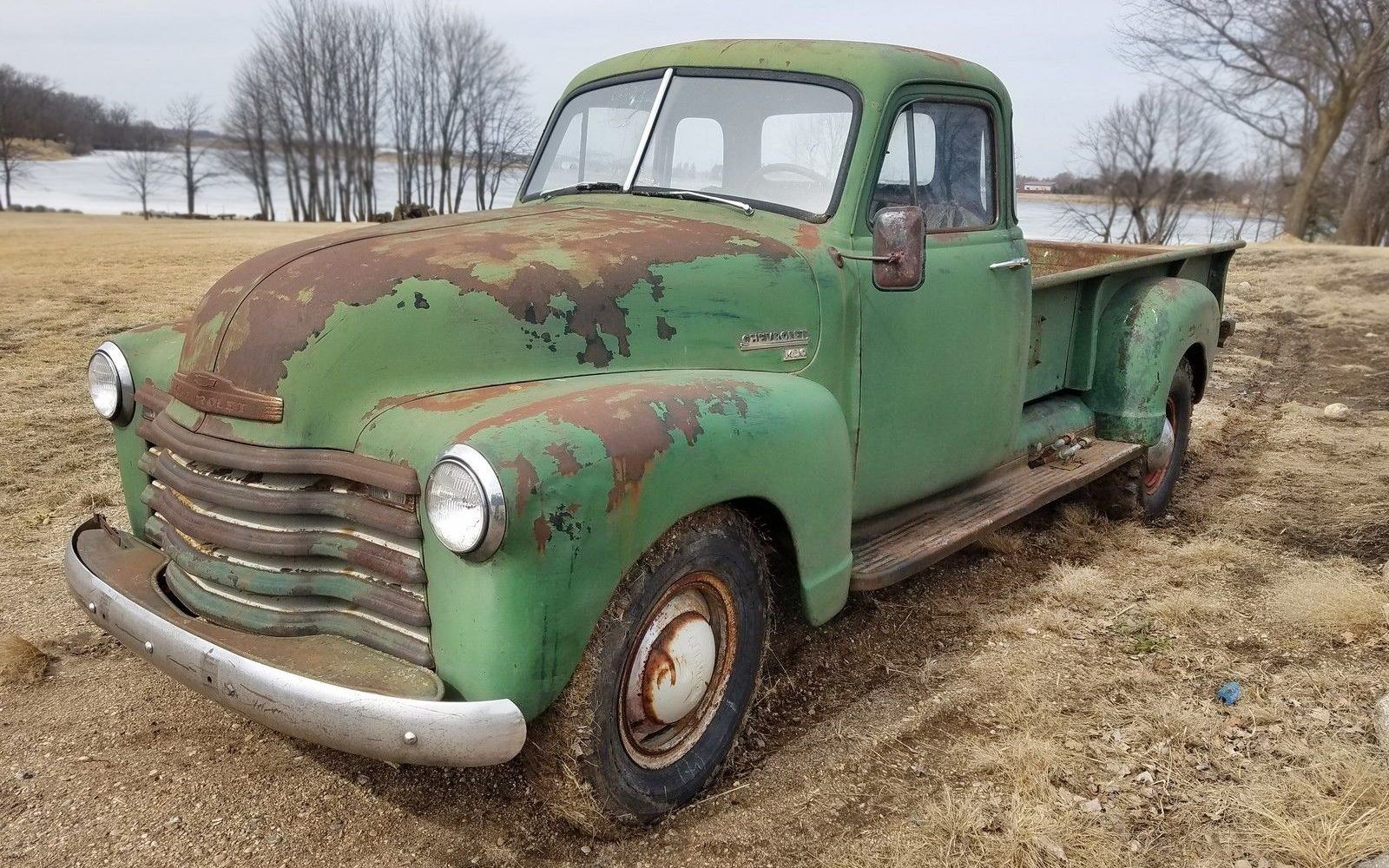 Made In Canada 1953 Chevrolet 1434 Pickup Vintage