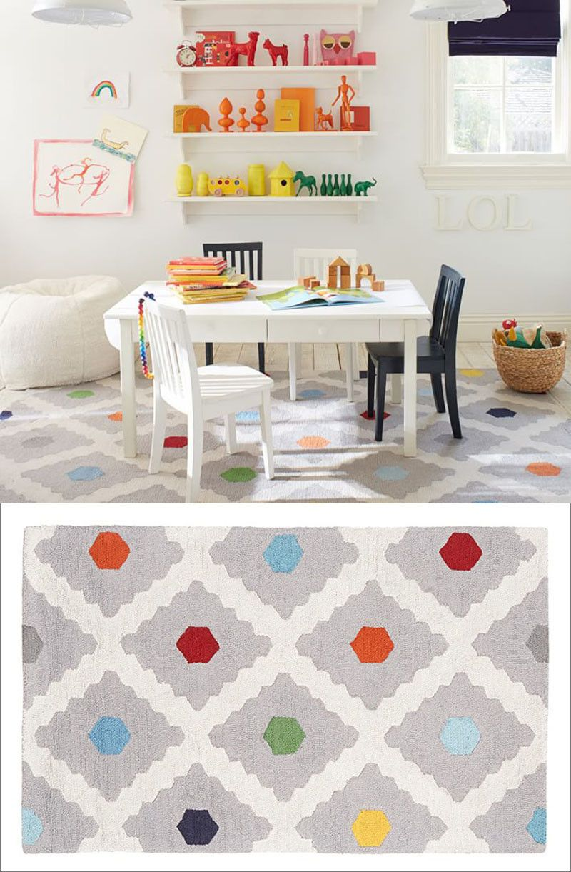 Rugs For Kids Multi Dot Rug By Pottery Barn Kids 10 Colorful Rugs To Brighten Up