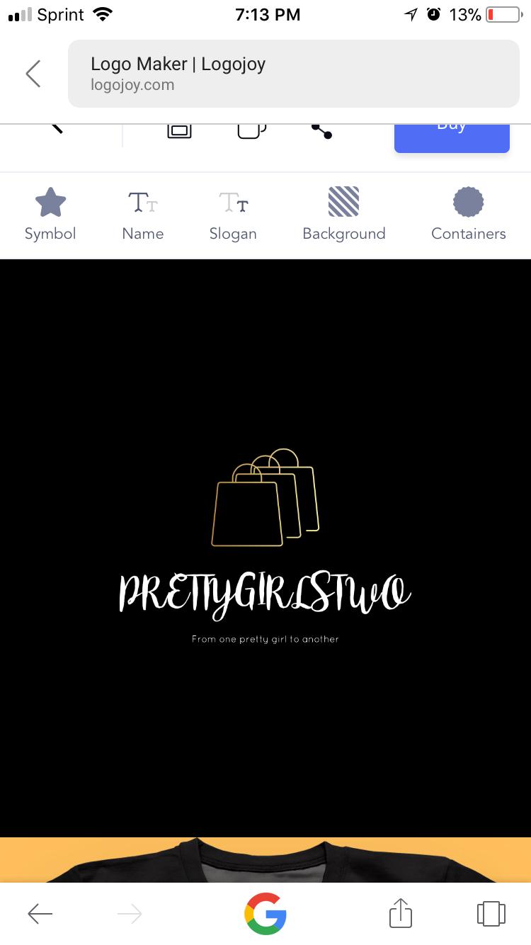 Pin by Vee on PRETTYGIRLSTWO.COM   Logo maker, Slogan, Symbols
