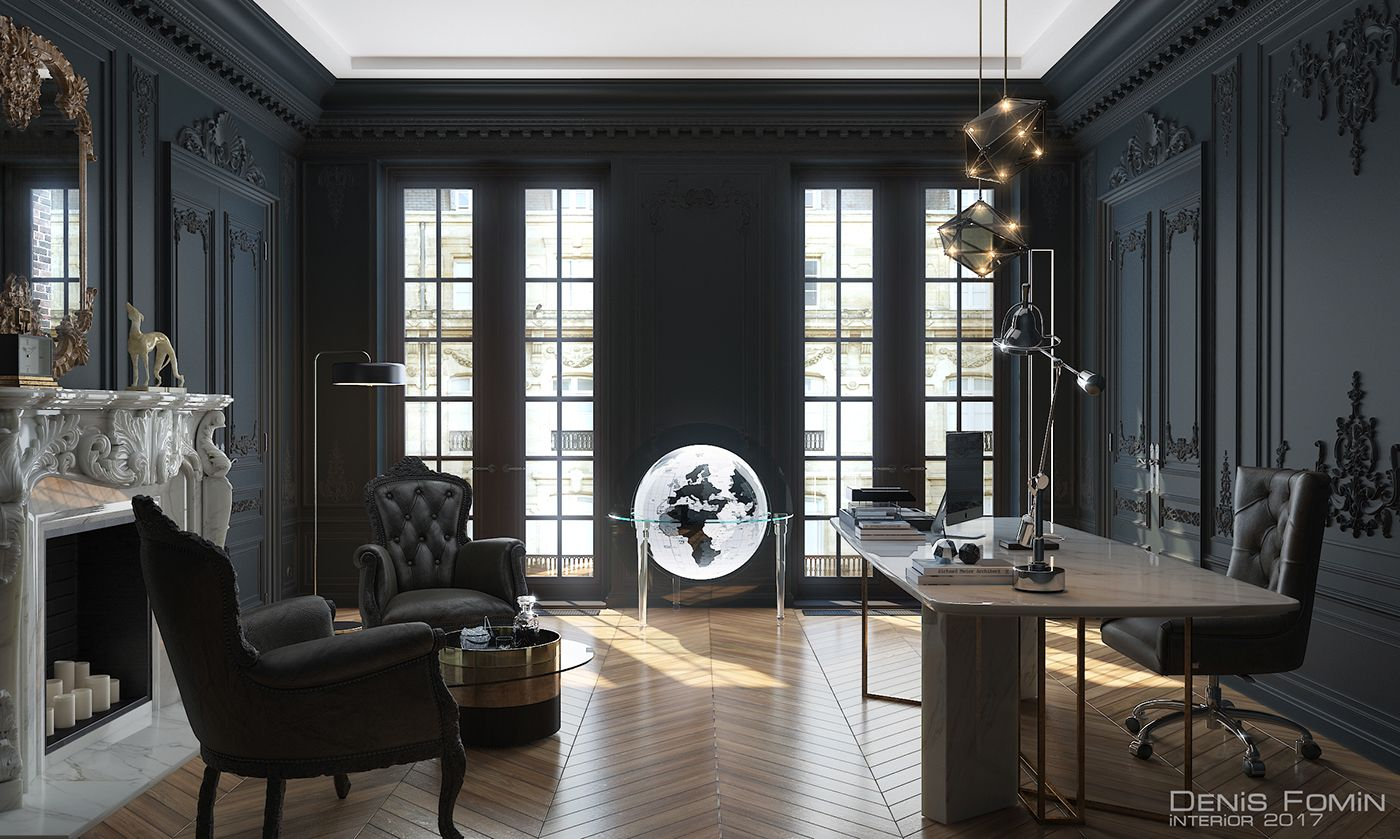 Cabinet #dunkleinnenräume