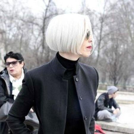 25 jolies façons de porter les cheveux blancs Cheveux