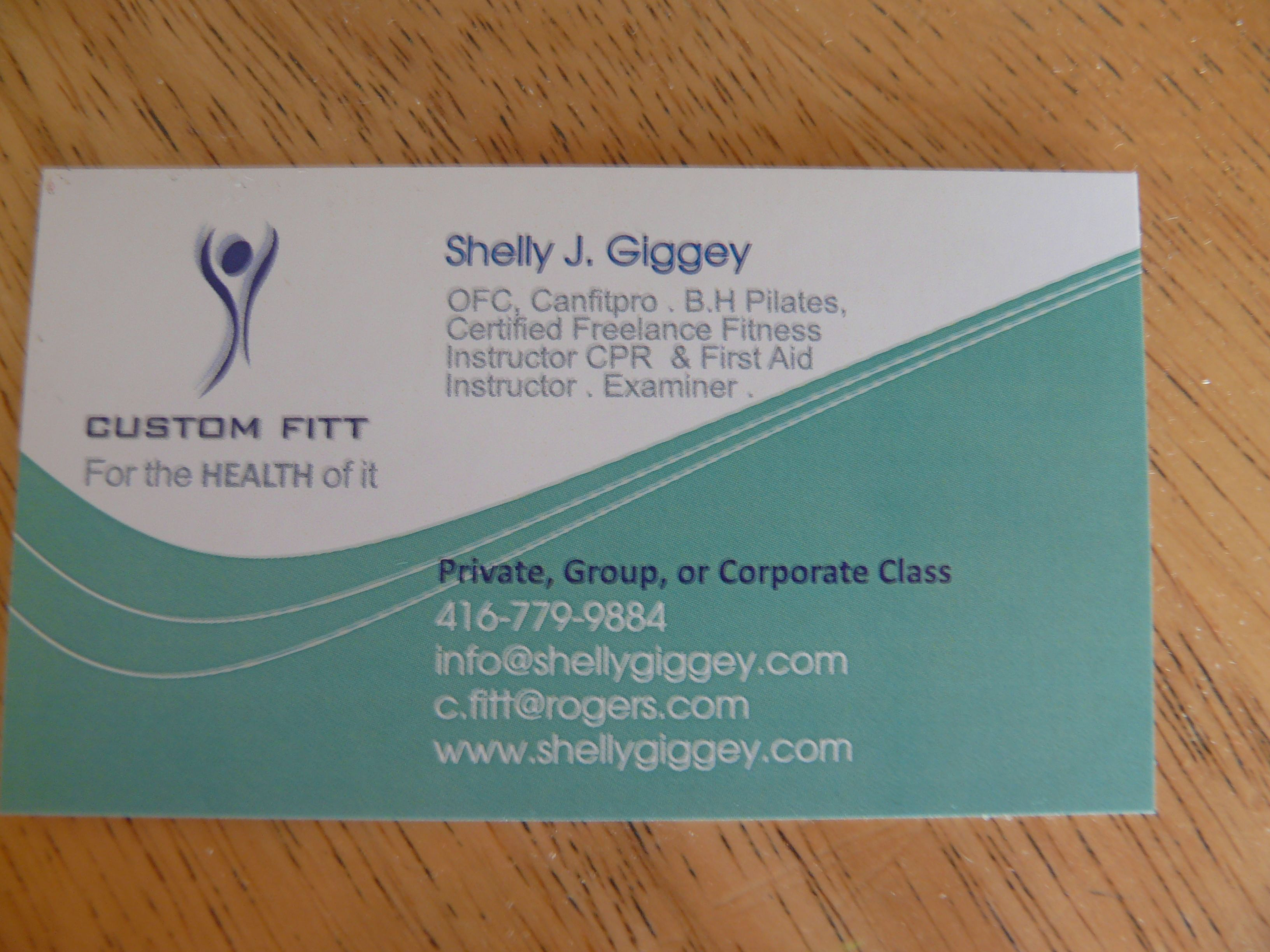 Shelly Giggey Toronto Fitness Professional Shelly Giggey