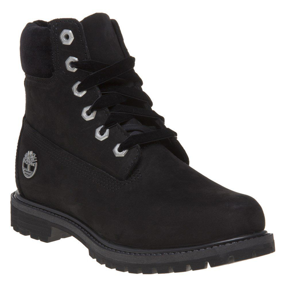 Timberland 6 Premium Womens Boots Black ** For more information, visit  image link.