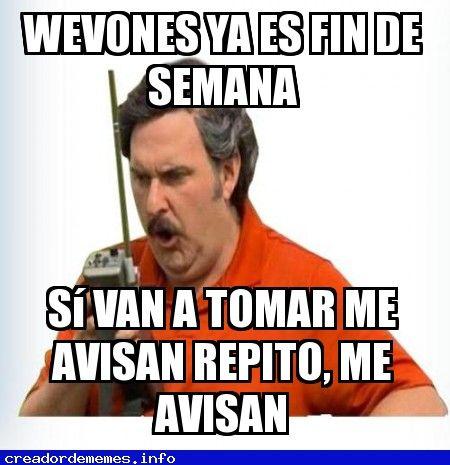 De Borrachos Memes Divertidos Memes Frases De Viernes