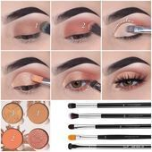 Makeup tutorials on Instagram: «Simple eye makeup illustr … –  Makeup tutorial… – Boda fotos