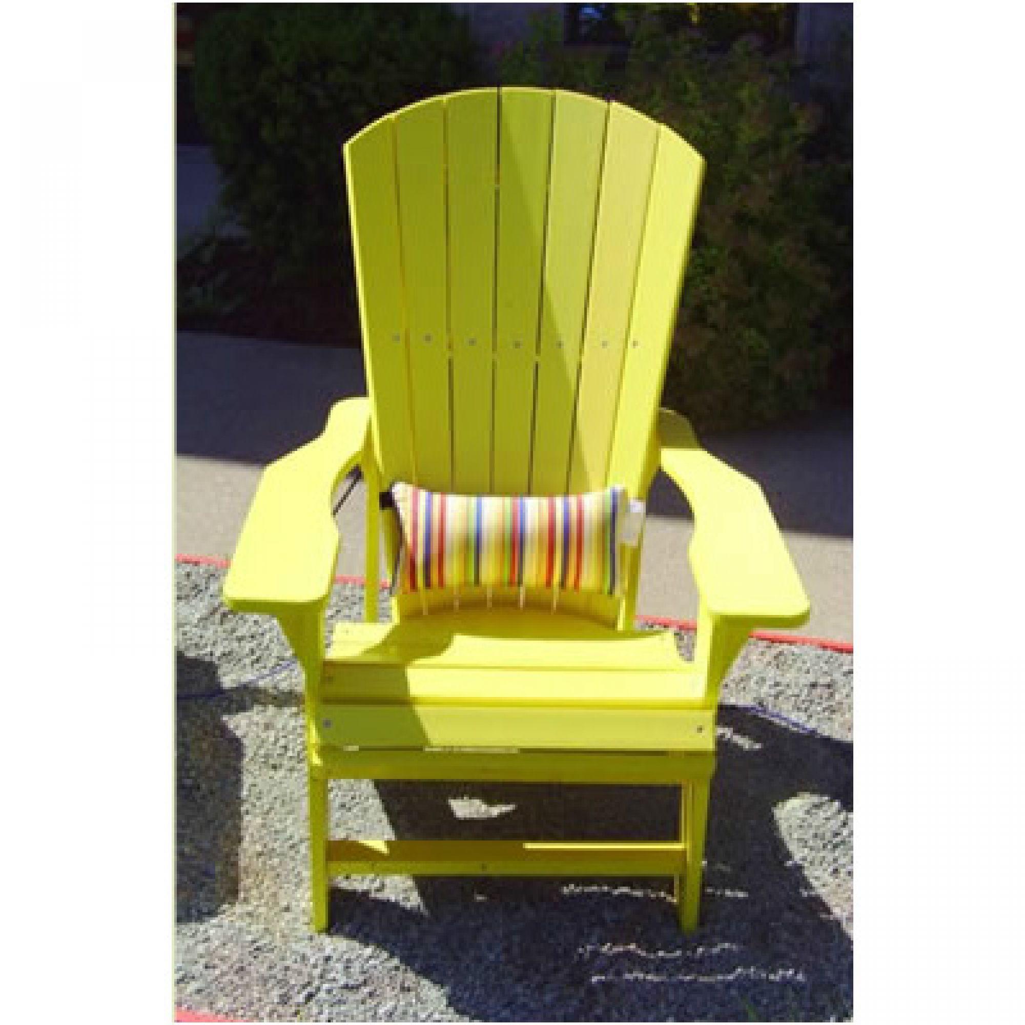 Amusing Lumbar Cushions For Adirondack Chairs With Fresh Green