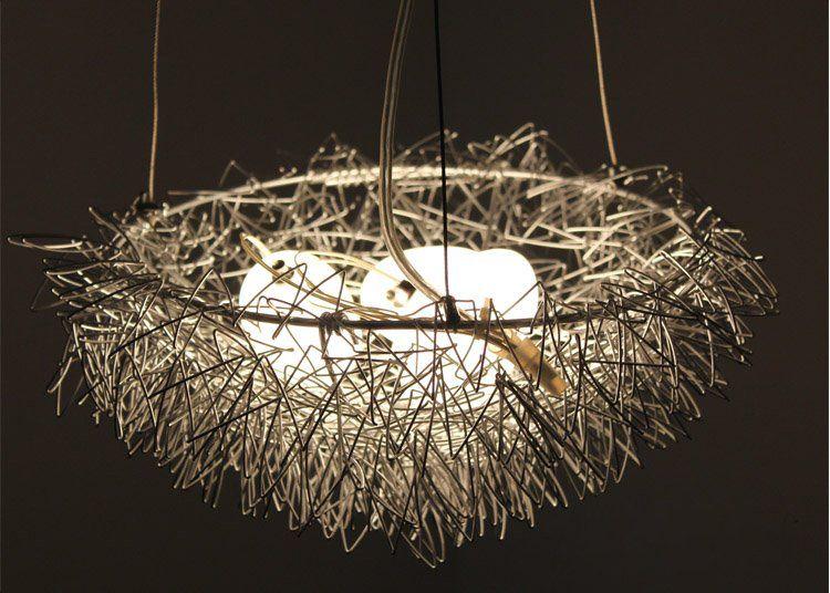Bird Nest Light Chandelier Pendant Lamp