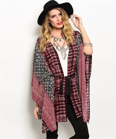 JAZZY GIRL CARDIGAN –The jazzy girl cardigan truly represents style with its vibrant appeal. It features a nice flowing style with a sash. Pair this item with jeans or your favorite pants and let it flow. #womenfashion #style