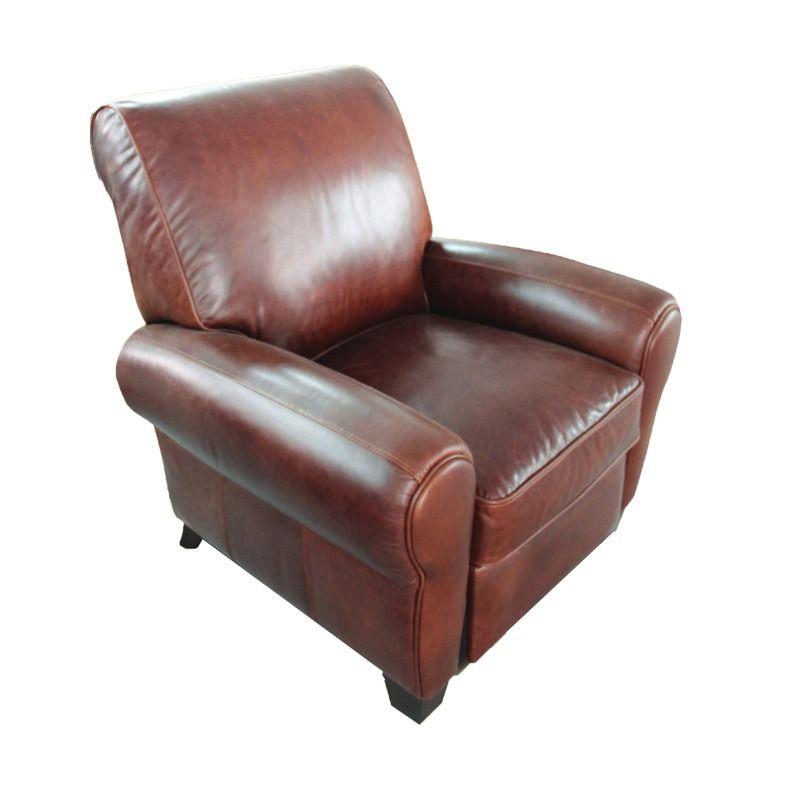 BarcaLounger Lectern Leather Recliner | Furniture And Mattress Outlet