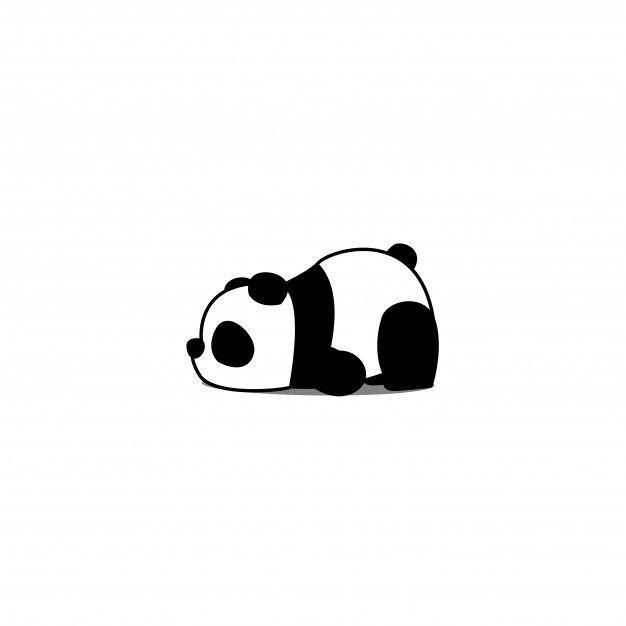 #animé #bébé #Dessin #Disney #manualida #panda #paresseux #Premium #Vector Dessin animé de panda paresseux Premium Vector   - Disney #bebe #bebe manualidades #bebe meninas