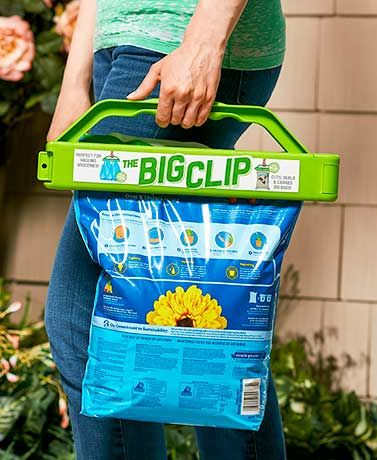 Aug 2016 The Big Clip reseals a bag andcomes with a carrying handle. It has a built-in blade to open the bag when first brought home from the…