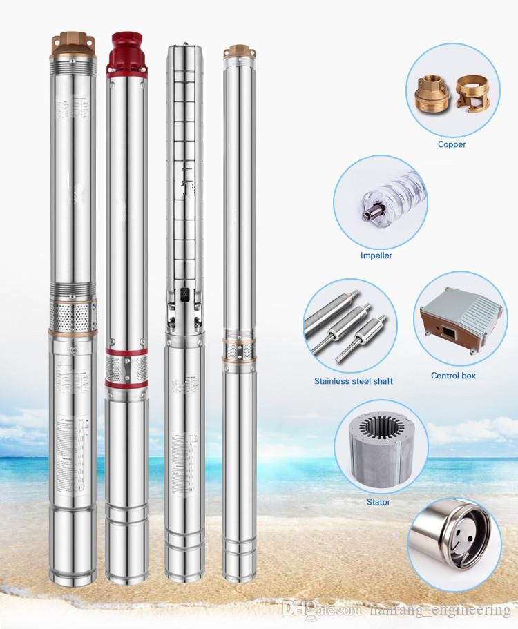 Submersible Pump Deep Well Water Pumping Cnc Machine Wells Anese Now Style