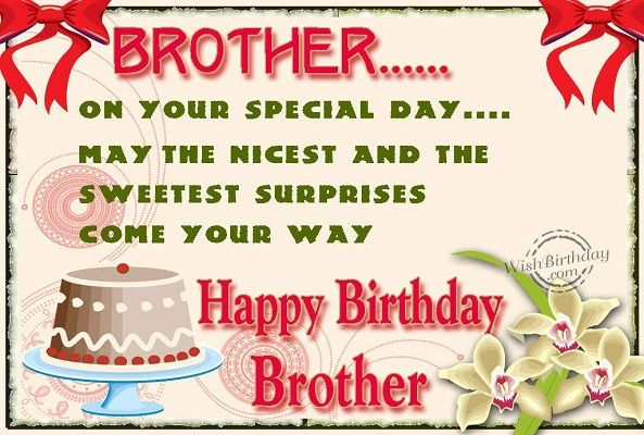 Happy Birthday To My Brother Mike
