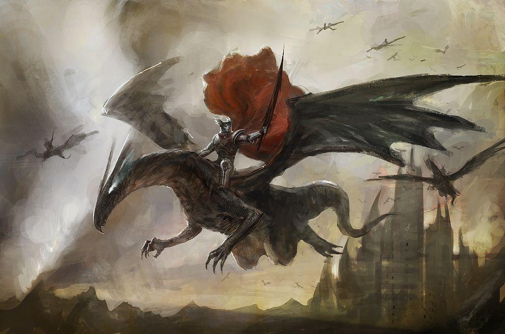 Dragon Knight by ~poisondlo on deviantART | picture | Pinterest ...