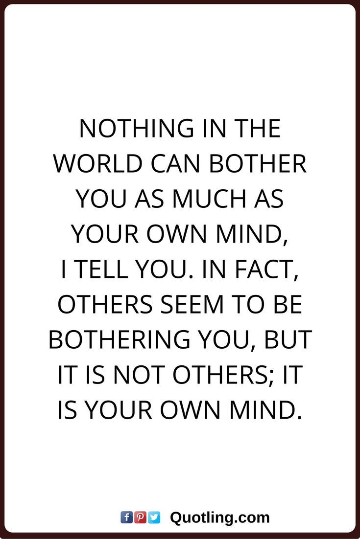 Peace Of Mind Quotes Peace Of Mind Quotes Nothing In The World Can Bother You As Much As