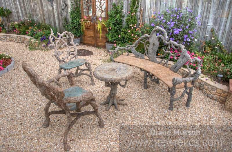 Concrete Faux Bois Furniture By Diane Husson. Www.newrelics.com
