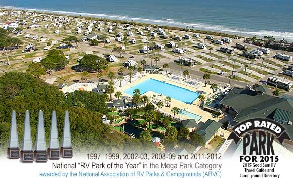 Ocean Lakes Family Campground Myrtle Beach Sc Oceanfront Camping