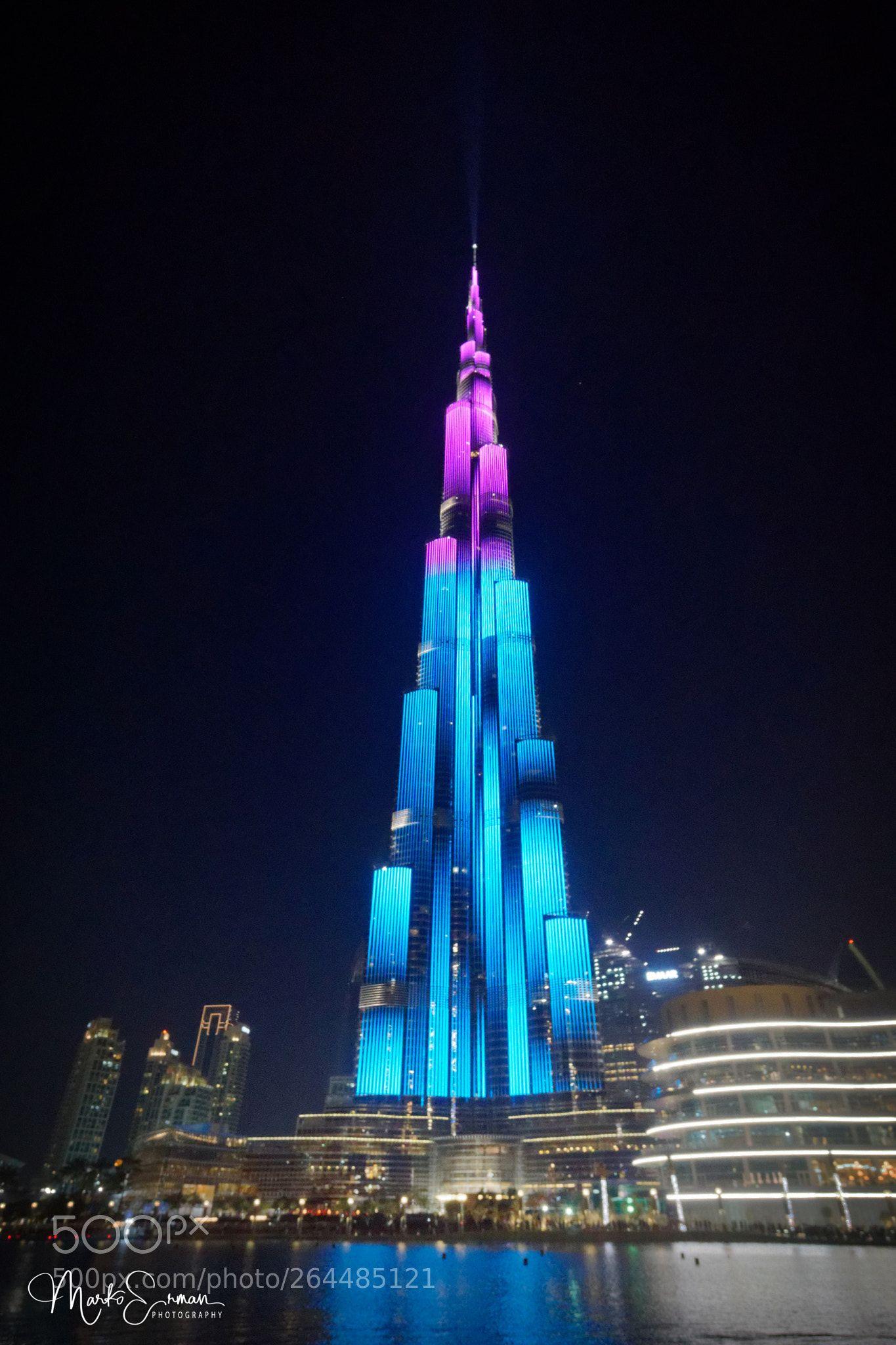 Night Show At Burj Khalifa By Markoerman Burj Khalifa Dubai City Unique Buildings Burj khalifa night view hd wallpaper