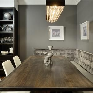 Dining Room Built in bench