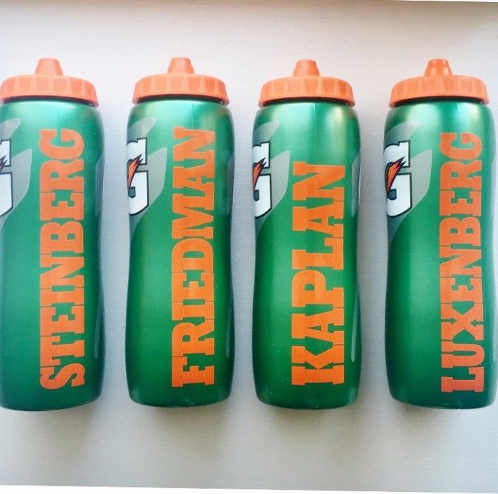 Gatorade Sport Bottle With Name Is Vinyl Boy Party Favors Sports Basketball Bar Mitzvah Hockey Birthday Parties