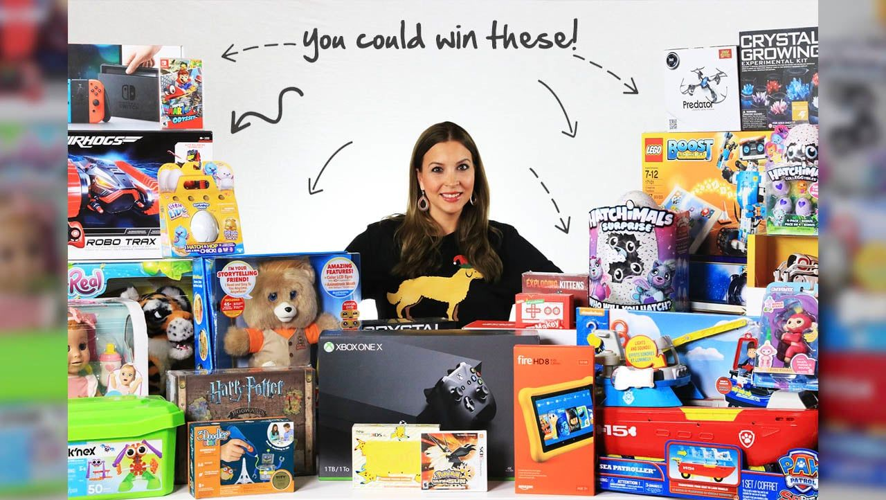 2017 Epic Toy Giveaway ToyNotes Toy notes, Holiday