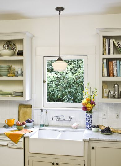 love this site for schoolhouse, vintage fixtures with a ...