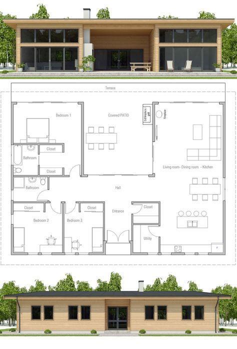 Plan de Maison Maisons in 2018 Pinterest Maison, Plan maison