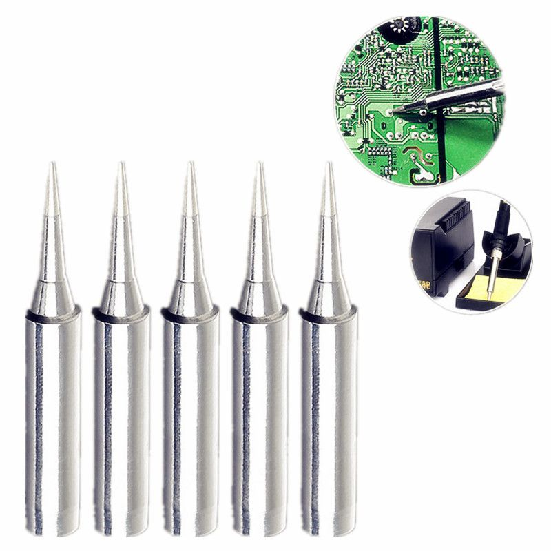 5pcs Lead Free Solder Iron Tips Replacement 900M-T-I Solder Iron Tips Head