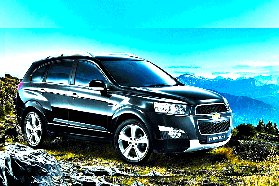 Chevrolet Captiva Vip Black Full Extra Simotas Car Rental